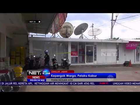 Pencurian Mesin ATM di Cianjur Terpergok Warga - NET24