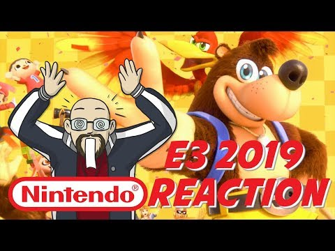 Nintendo Direct E3 2019 Live Reaction - Banjo-Kazooie Baby & Breath of the Wild Sequel!