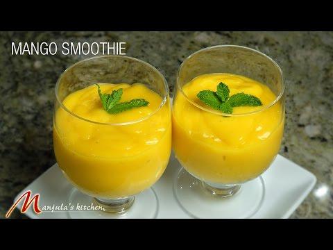 Mango Smoothie (Vegan) Recipe by Manjula