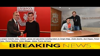 Liverpool transfer news; Philippe Coutinho claim, Patson Daka deal, Adrian new contract