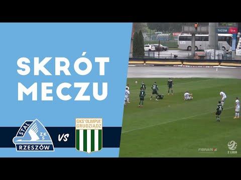 WIDEO: Stal Rzeszów - Olimpia Grudziądz 0-1 [SKRÓT MECZU]