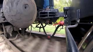 Догнал вагон. Ходовые тормозные испытания. HD Running brake tests