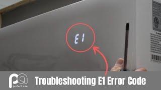 E1 code for Superair split air conditioner - Hài Trấn Thành