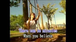 When You Believe (Karaoke)