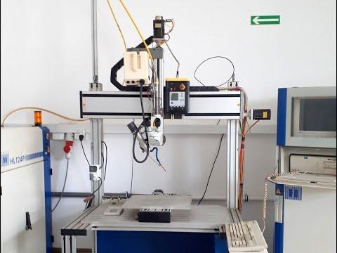 2D laser TRUMPF HAAS-LASER HL 124P/4 LCB 1997