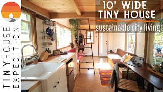 Woman Builds Tiny Home as Sustainable Affordable City Living