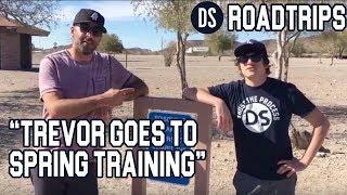 DS Roadtrips: Intern Trevor Goes to Spring Training