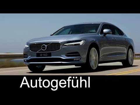 Volvo S90 Excellence Interior/Exterior Preview - Autogefühl
