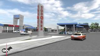 preview picture of video 'Proyecto 3D - Centro Comercial Todobra San Rafael'