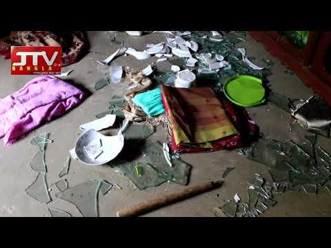 ব্রাহ্মনবাড়িয়ার সীমানা প্রাচীর নিয়ে সংঘর্ষ; হামলা, লুটপাট ও ভাংচু