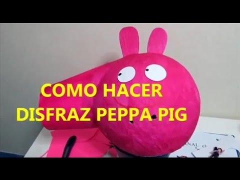 Hacer disfraz Peppa Pig