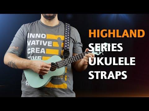ORTEGA GUITARS | COTTON STRAPS FOR UKULELE (HIGHLAND SERIES)