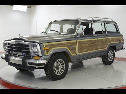 Video of '89 Grand Wagoneer - Q8M9