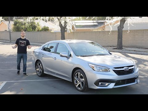 2020 Subaru Legacy Test Drive Video Review