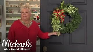 Spice Up Your Holiday Wreaths | 2011 Holiday | Michaels