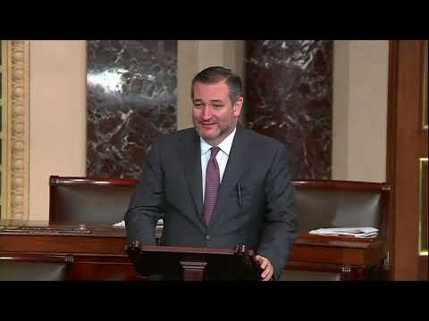 Sen. Cruz Delivers Remarks Honoring the Life and Legacy of President George H.W. Bush