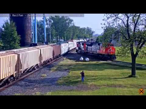 Over 40 Trains at the Deshler, OH Memorial Day Weekend Outing!