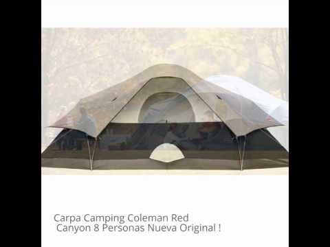 Carpa Camping Coleman Red Canyon 8 Personas Nueva Original !