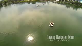 Layang Hengoson Team @ Lake View DJI Phantom Malaysia
