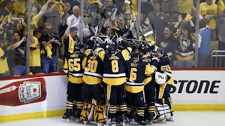Penguins advance to 2nd straight Cup Final with double-overtime win over Senators