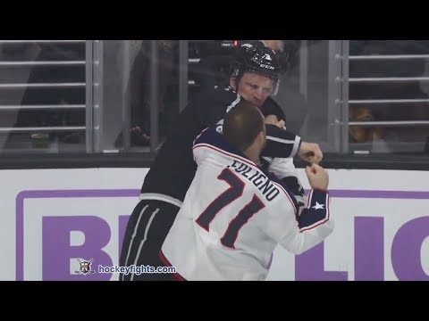 Dion Phaneuf vs. Nick Foligno