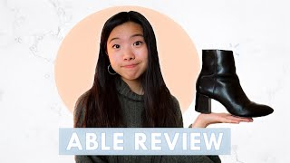 The Best Black Boots? | ABLE Boot Review
