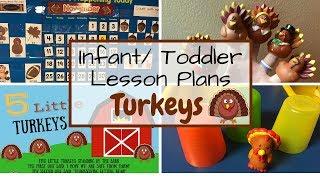 Toddler Lesson Plans- Turkeys