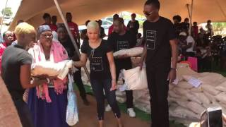 Uebert Angel Foundation Food Distribution