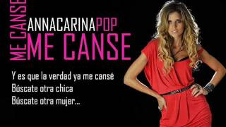 Anna Carina - Me cansé (Video y audio Full HD)