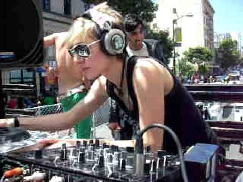 DJ Loryn Live @ San Francisco Pride 2009 on the Tantra Underground Dance Stage_Part 2