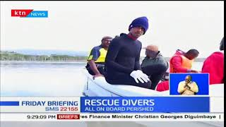 Story of two divers who found the helicopter during the Nakuru chopper crash