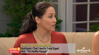 Outdoor Fall Travel Tips on Hallmark Home & Family with Carolyn Scott-Hamilton