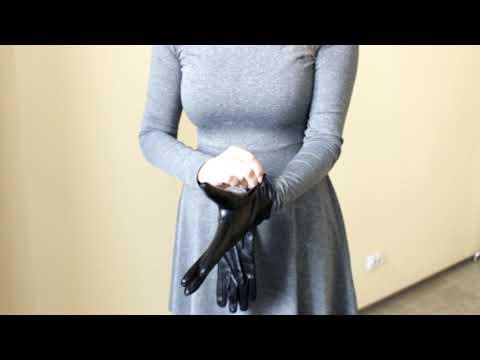 Перчатки женские L0797-1 Черные