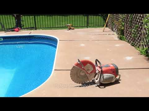 Bedlam Concrete Lifting was called to repair this Pool Deck by using Polylevel in Stillwater, Ok  * Note Nexuspro was not used in this video.