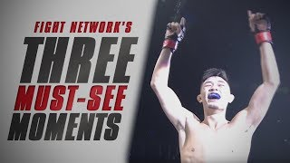 Slam KO and Knee to Liver at ONE: Warriors of the World | Top 3 Must-See Moments