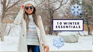 10 WINTER Essentials Every Woman Needs   Winter wardrobe basics guide 2020   Miss Louie
