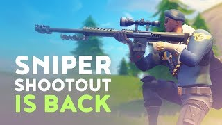SNIPER SHOOT OUT IS BACK AGAIN! - QUICKSCOPE META 100% WIN-RATES  (Fortnite Battle Royale)