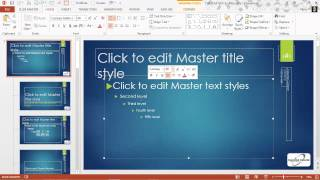 Font Basics in PowerPoint 2013