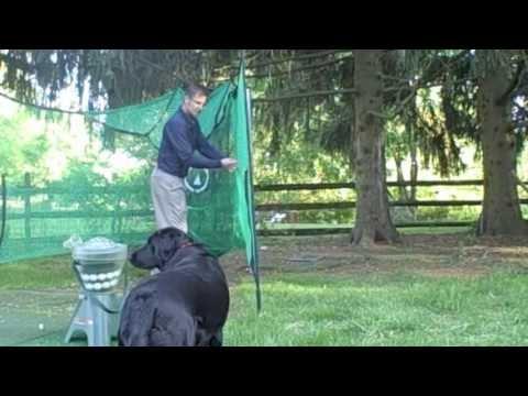Great Backyard Golf Practice Net: The RotaNet