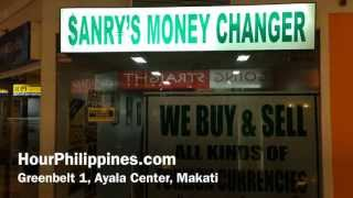 Sanry's Money Changer Greenbelt 1 Ayala Center Makati Philippines by HourPhilippines.com