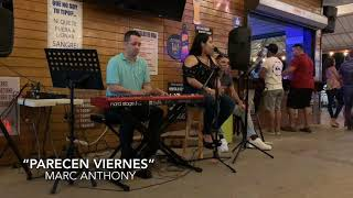 """Stacey Nicole Acoustic """"Parecen Viernes"""" Cover  Mark Anthony"""