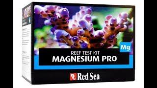 Red sea calcium pro test kit инструкция таблица