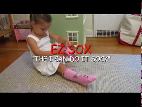 how to dress kids video ez sox