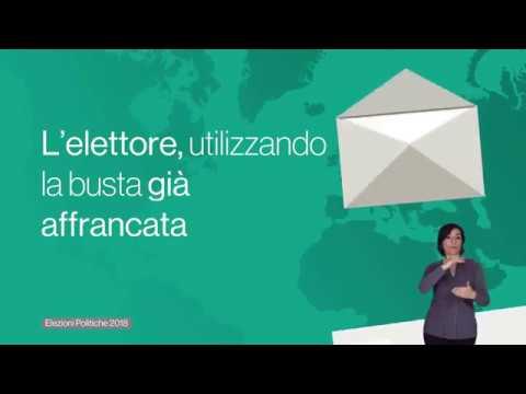 Elezioni politiche 2018 - Voto degli italiani all'estero