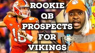 Vikings Rookie QB Prospects