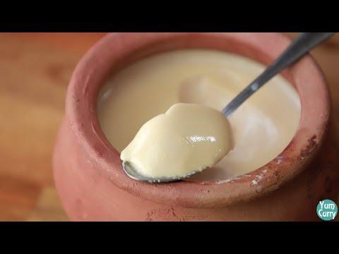 Mishti Doi Recipe - Bengali sweet yoghurt - easy mishti dahi recipe