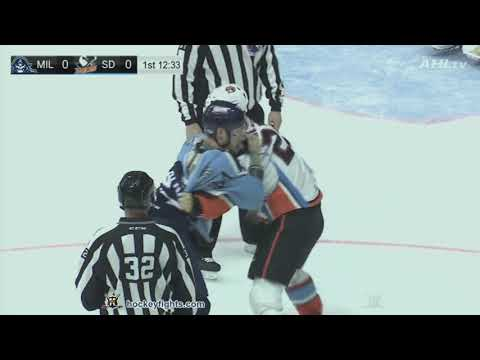 Jake Marchment vs. Mathieu Olivier