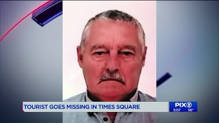 British Tourist With Alzheimer`s Goes Missing In Times Square
