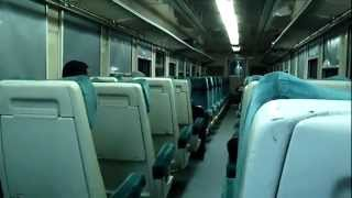 preview picture of video 'Tunisia Railway - night train from Sousse to Tozeur on SNCFT in Tunisia Jan 2013'