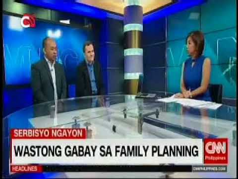 UNFPA's Klaus Beck and Dr. Angelito Umali discuss World population Day on CNN Philippines